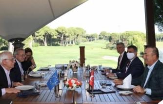 Bakan Çavuşoğlu, AB Yüksek Temsilcisi Borell ile görüştü