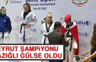 Beyrut Şampiyonu Elazığlı Gülse