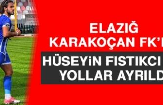 Elazığ Karakoçan FK'da Hüseyin Fıstıkcı İle Yollar Ayrıldı