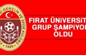 Fırat Üniversitesi Grup Şampiyonu Oldu!