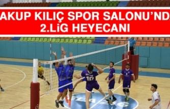 Yakup Kılıç Spor Salonu'nda 2.Lig Heyecanı