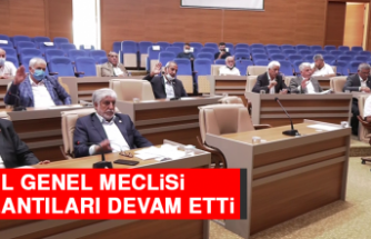 İl Genel Meclisi Toplantıları Devam Etti