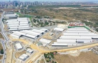 İstanbul Gıda Toptancıları Çarşısı açılış için gün sayıyor