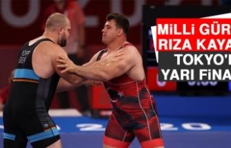 Milli Güreşçi Rıza Kayaalp Tokyo'da Yarı Finalde