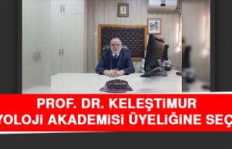 Prof. Dr. Keleştimur, Fizyoloji Akademisi Üyeliğine Seçildi