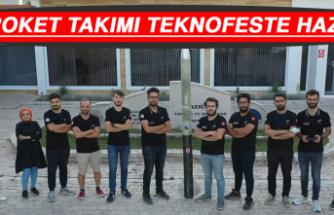 TRoket Takımı TEKNOFESTE Hazır