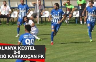 Alanya Kestel 2-0 Elazığ Karakoçan FK