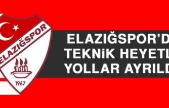 Elazığspor'da Teknik Heyetle Yollar Ayrıldı