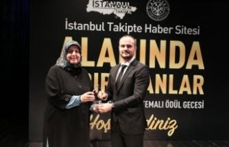 """İHA'ya  """"Alanında İz Bırakan Gazeteci"""" ödülü"""