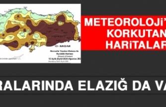 Meteoroloji'den Korkutan Haritalar