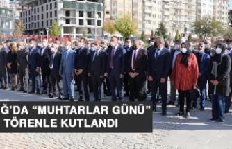 """Elazığ'da """"Muhtarlar Günü"""" Törenle Kutlandı"""