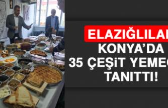 Elazığlılar Konya'da 35 Çeşit Yemeğini Tanıttı