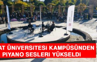 Fırat Üniversitesi Kampüsünden Piyano Sesleri Yükseldi