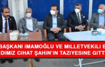 İBB Başkanı İmamoğlu Ve Milletvekili Erol Şehidimiz Cihat Şahin'in Taziyesine Gittiler