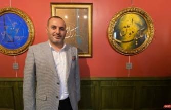 KahVEsanat sergi salonu Berceste eserleri Üsküdar'da sanat severlerle buluşturdu
