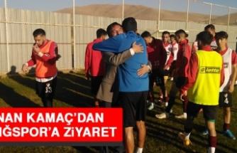 Kenan Kamaç'dan Elazığspor'a Ziyaret