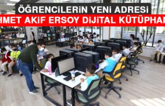 Öğrencilerin Yeni Adresi Mehmet Akif Ersoy Dijital Kütüphanesi