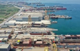 Yalova'nın gemi ve yat ihracatı yüzde 53,5 arttı