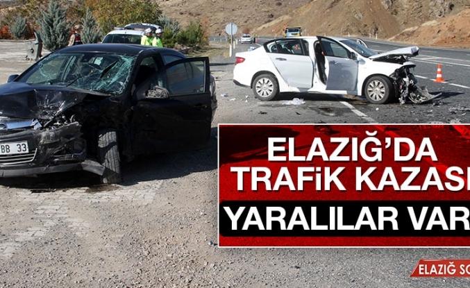 Elazığ'da Trafik Kazası! Yaralılar Var