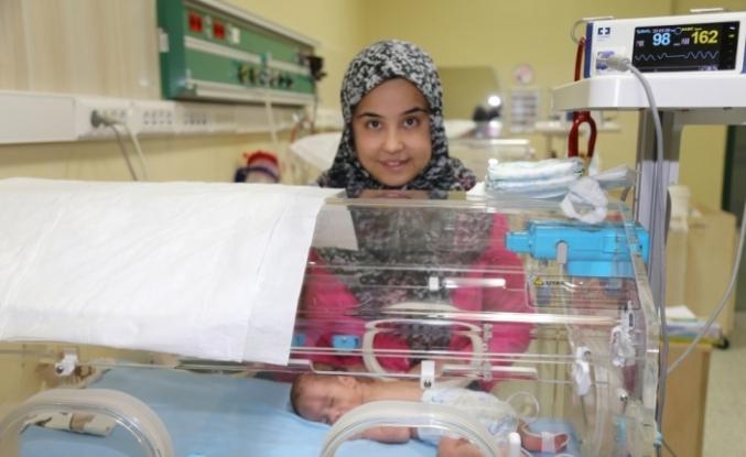Gürcistan'da prematüre doğan Ali Kemal bebek Erzurum'da şifa buldu
