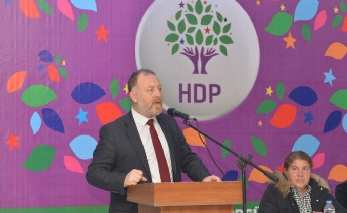 HDP Eş Genel Başkanı Sezai Temelli'den, erken seçim çağrısı