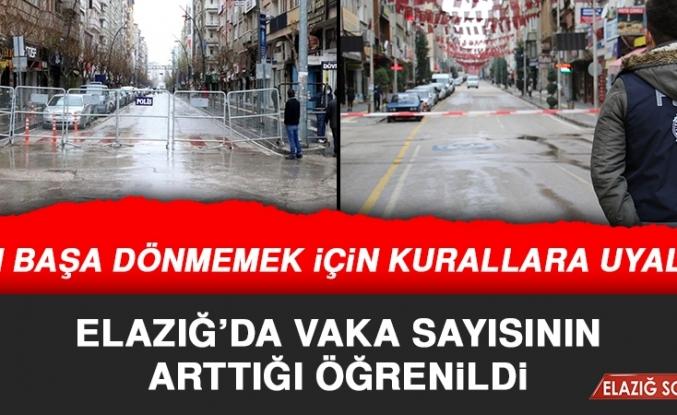 Elazığ'daki Vaka Sayısı Artıyor, Vatandaşlar Resmi Sayı Bekliyor!