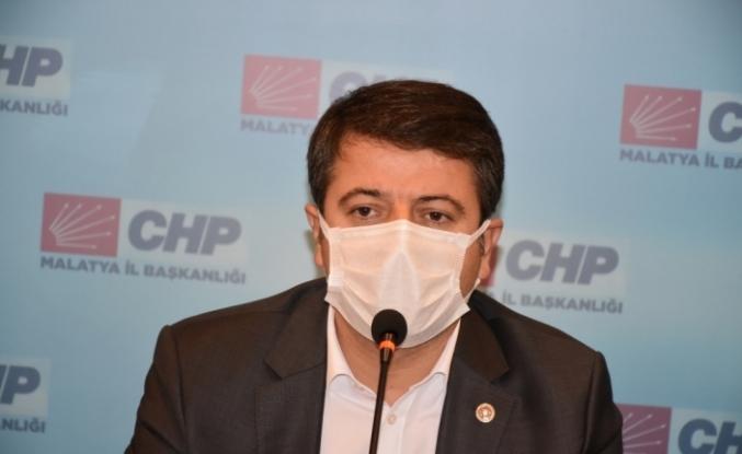CHP Genel Başkan Yardımcısı Veli Ağbaba Malatya'da konuştu: