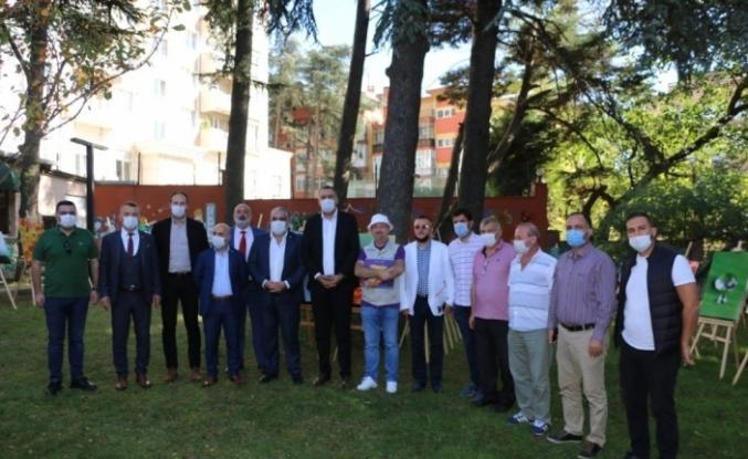 """Masal Müzesi'nde """"Su Perisi"""" fotoğraf sergisi açıldı"""