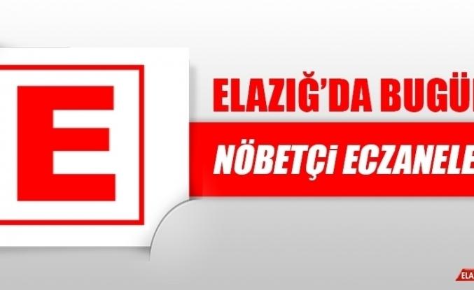 Elazığ'da 28 Ocak'ta Nöbetçi Eczaneler