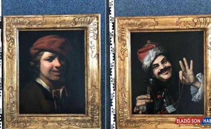 Çöpten 17'nci yüzyıla ait iki değerli tablo çıktı