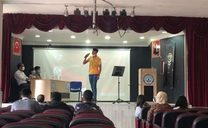 Tomarza'da Türk Halk Müziği yarışması finali yapıldı