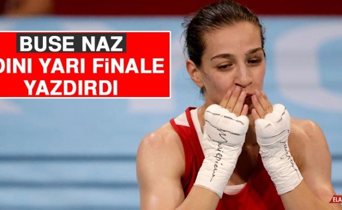 Buse Naz Çakıroğlu Tokyo'da Yarı Finalde