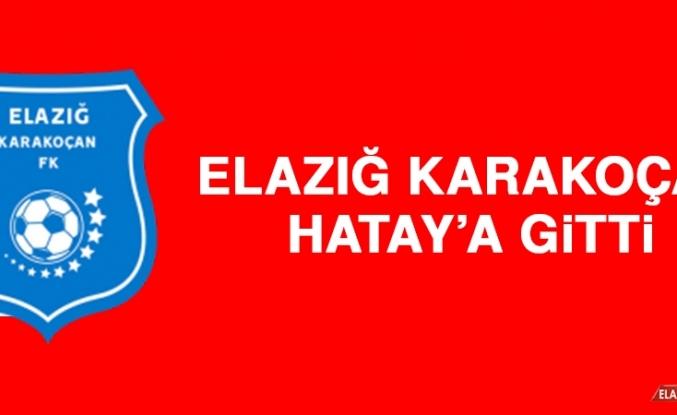 Elazığ Karakoçan FK, Hatay'a Gitti