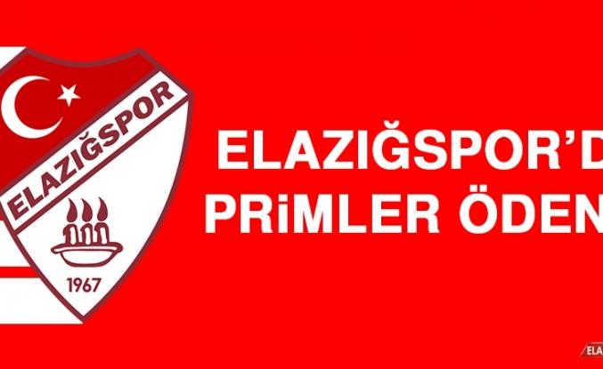Elazığspor'da Primler Ödendi