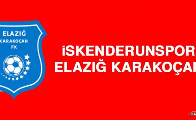 İskenderunspor 3-0 Elazığ Karakoçan FK
