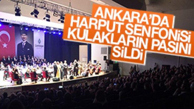 Ankara'da Harput Senfonisi Kullakların Pasını Sildi